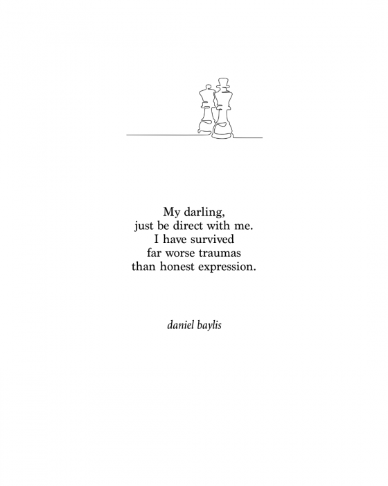 daniel baylis poetry