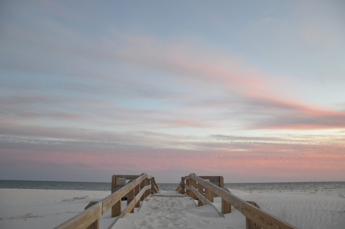 stock images daniel baylis beach in pensacola florida
